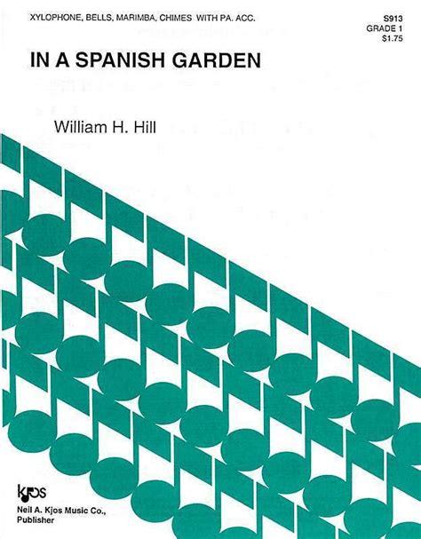 Hill, William: In a spanish garden   Brandt   Percussion ...