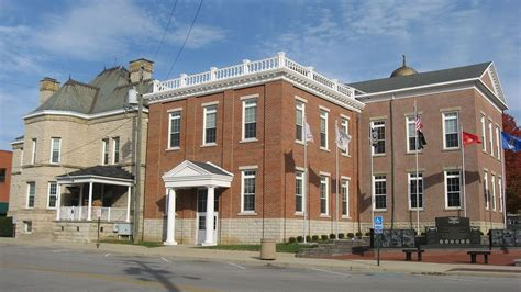 Hillsboro Historic Business District in Highland County ...