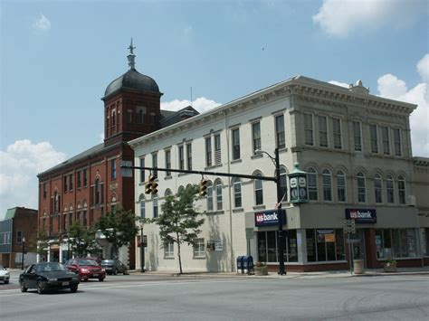 Hillsboro, OH : Downtown on US Route 50 photo, picture ...