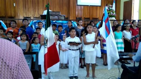 Himno a la Bandera Cristiana Apertura EBDV 2016   YouTube