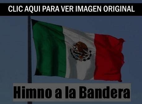 Himno a la bandera de México