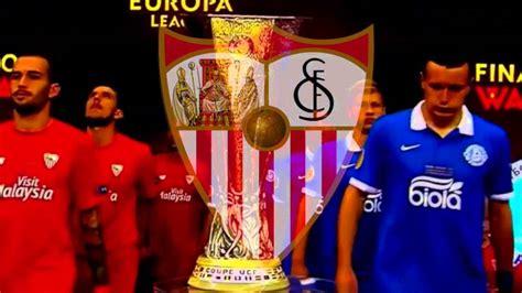 Himno Centenario Sevilla FC con letra HD   YouTube
