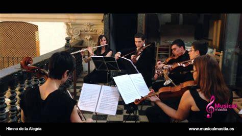 Himno de la Alegria Beethoven 9 sinfonía   YouTube