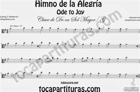 Himno De La Alegria Beethoven Guitarra Clasica Oda | himno ...