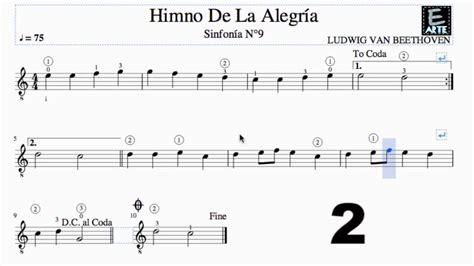 Himno de la alegria   LUDWIG VAN BEETHOVEN   sinfonia Nª 9 ...