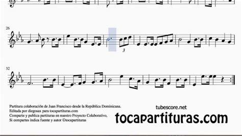 Himno de la República Dominicana Partitura para Violín ...
