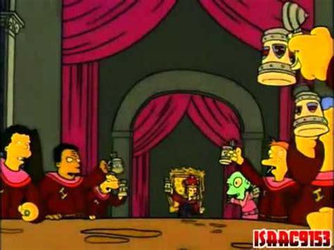 Himno de los canteros Los Simpson Castellano   YouTube