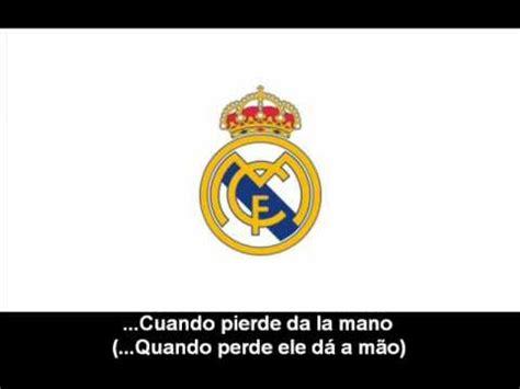 Himno de Real Madrid Club de Fútbol  Letra    Hino do Real ...