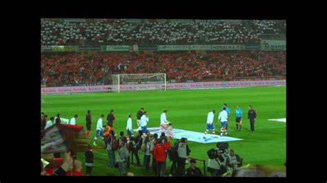Himno del Granada CF contra sevilla FC 2012 Live  en ...