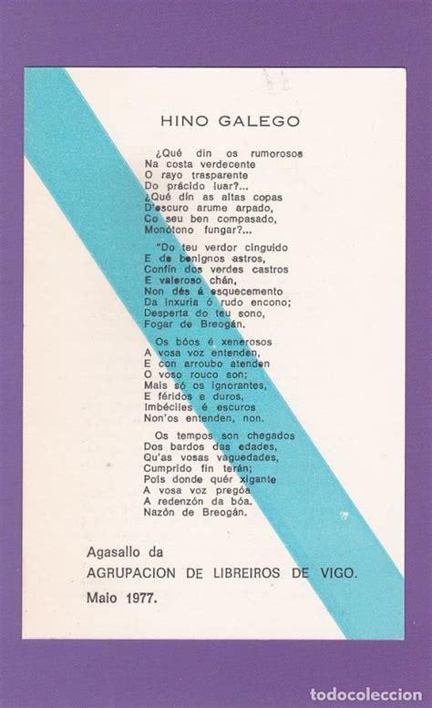 Himno galego   anton villar ponte. dia das letr   Vendido ...