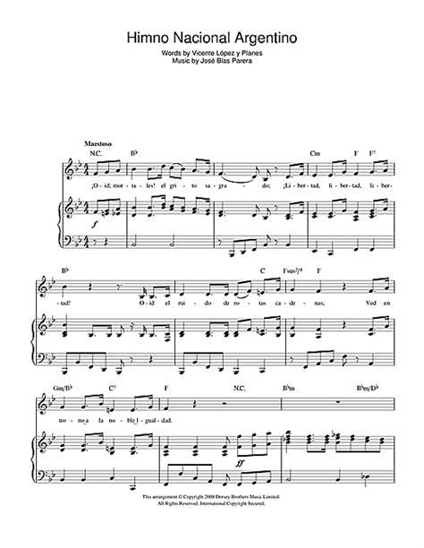 Himno Nacional Argentino  Argentinian National Anthem ...