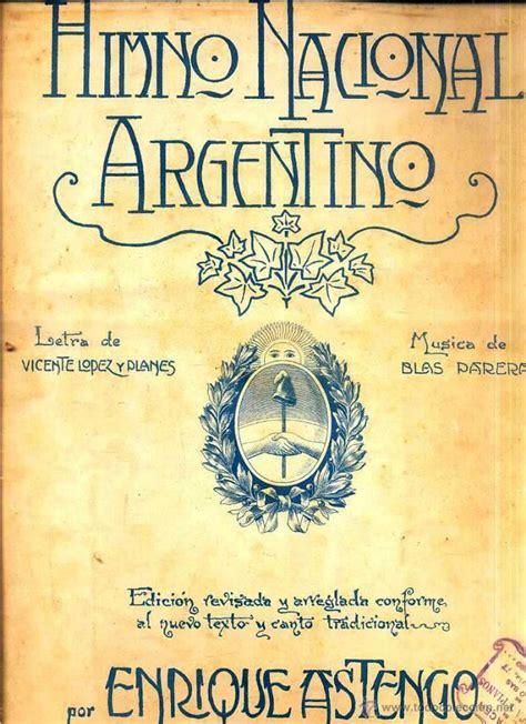 himno nacional argentino   Comprar Partituras musicales ...