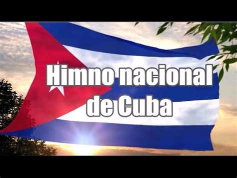 Himno Nacional de Cuba   Cuban National Anthem   YouTube