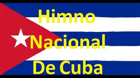 Himno Nacional De Cuba   YouTube