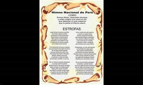 Himno Nacional del Perú: Letra completa [ACTUALIZADO 2019 ...