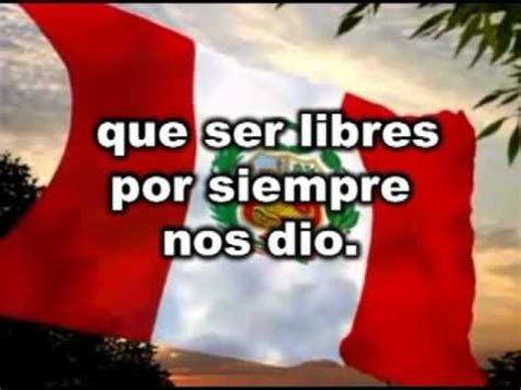 Himno Nacional del Perú   sexta estrofa muy bueno   YouTube