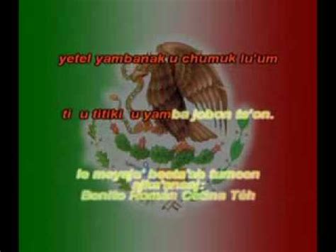 Himno Nacional en Maya karaoke   solo audio    YouTube