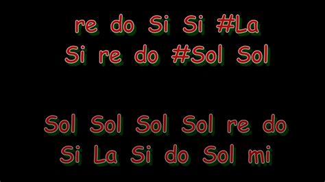 Himno Nacional Mexicano en ocarina con notas en español ...