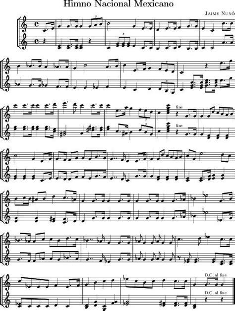 Himno Nacional Mexicano. | Música para el corazon. | Himno ...