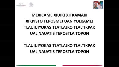HIMNO NACIONAL MEXICANO NAHUATL   YouTube