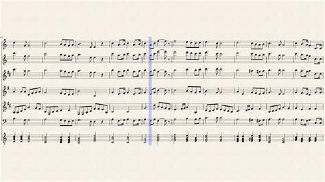 Himno URSS Arreglo trompa, voz, clarinete, flauta ...
