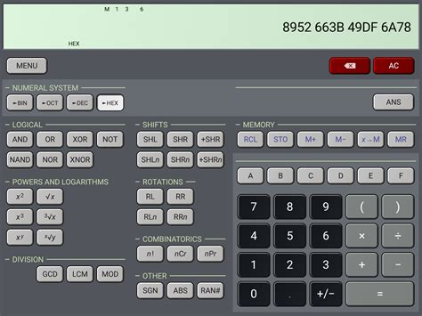 HiPER Scientific Calculator » Apk Thing   Android Apps ...