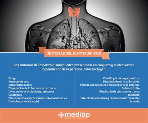 Hipotiroidismo: causas, diagnóstico y tratamiento   Meditip