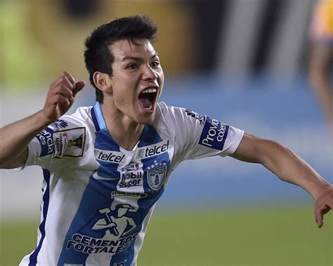 Hirving Lozano Completes PSV Transfer from Pachuca ...