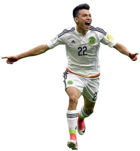 Hirving Lozano football render   38068   FootyRenders