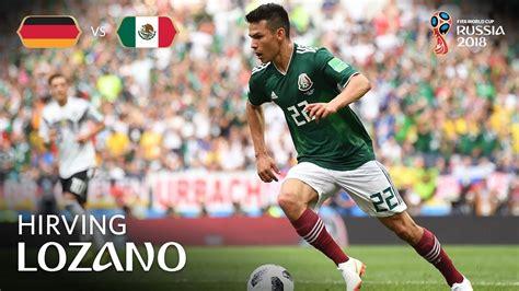 Hirving LOZANO Goal   Germany v Mexico   MATCH 11   YouTube