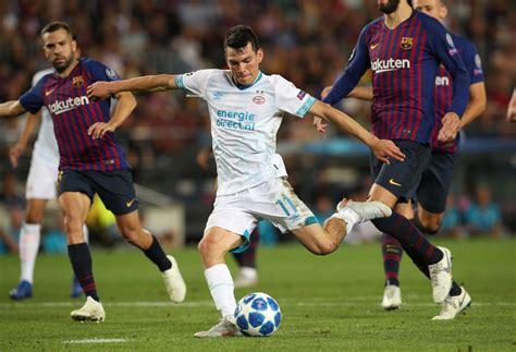 Hirving Lozano no se escondió contra el Barcelona | MARCA ...
