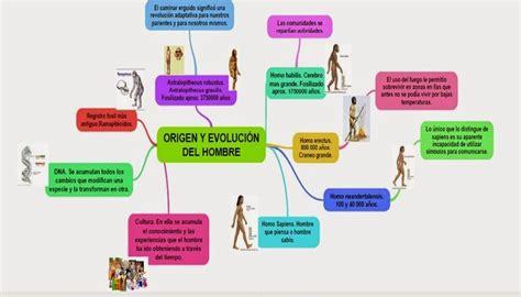Hispania Sauces: Mapa conceptual de la evolución Humana
