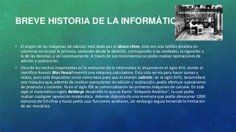 historia de informatica