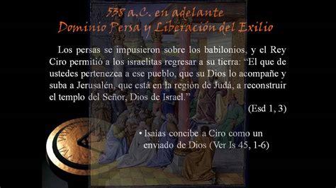 Historia de Israel durante la época del Antiguo Testamento ...