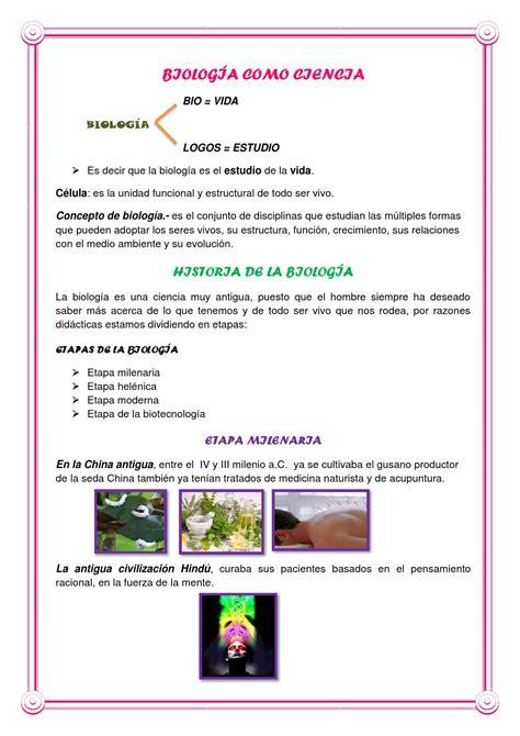Historia de la biologia by Erika Salinas   issuu