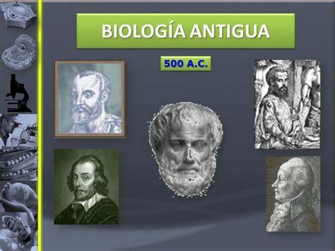 HISTORIA DE LA BIOLOGÍA... timeline   Timetoast timelines