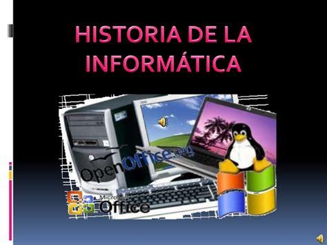 Historia de la informatica powerpoint