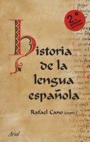 Historia de la lengua española   Rafael Cano   Planeta de ...