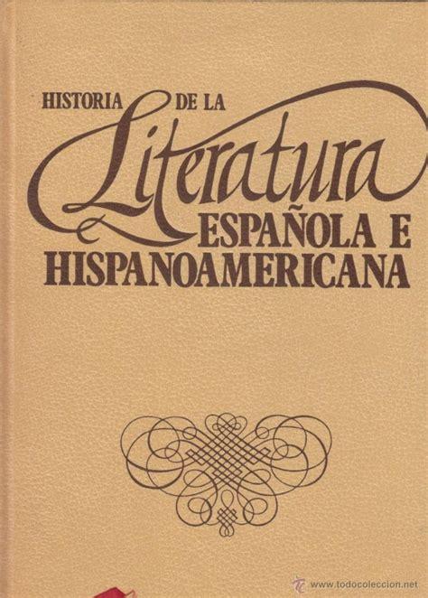 historia de la literatura española e iberoameri   Comprar ...