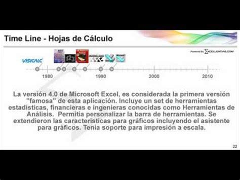 Historia de las hojas de cálculo   YouTube