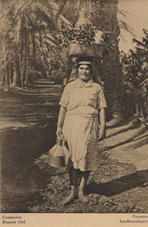 Historia de las mujer canaria trabajadora | Fotos antiguas ...