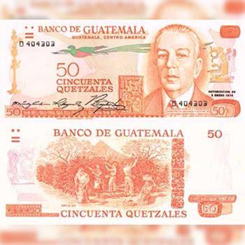 Historia del billete de 50 quetzales en Guatemala ...