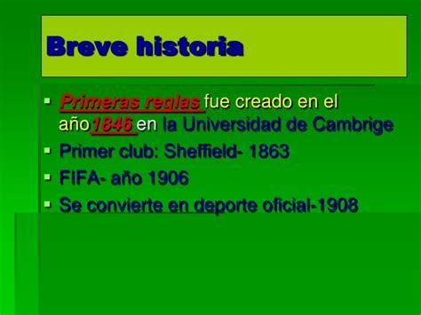 Historia Del Futbol Para Niños De Primaria   Hay Niños