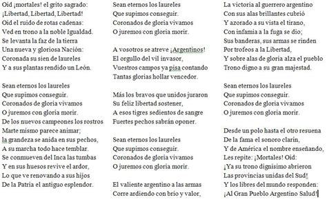 Historia del Himno Nacional Argentino   Taringa!