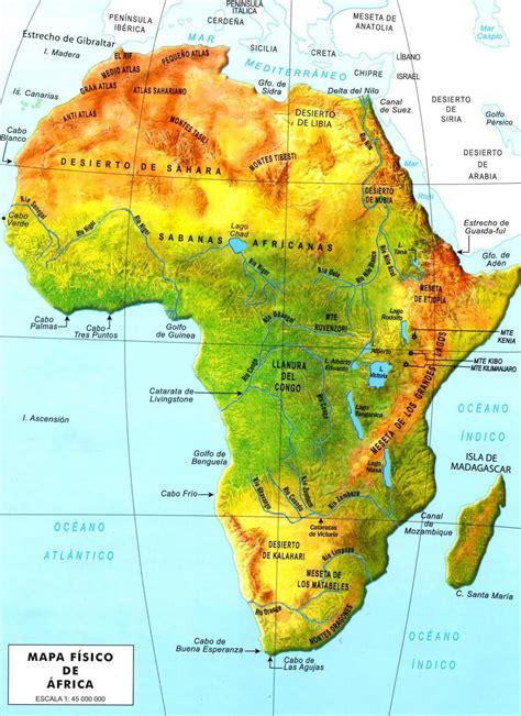 HISTORIA, GEOGRAFÍA Y ECONOMÍA: ÁFRICA: EL CONTINENTE DE ...