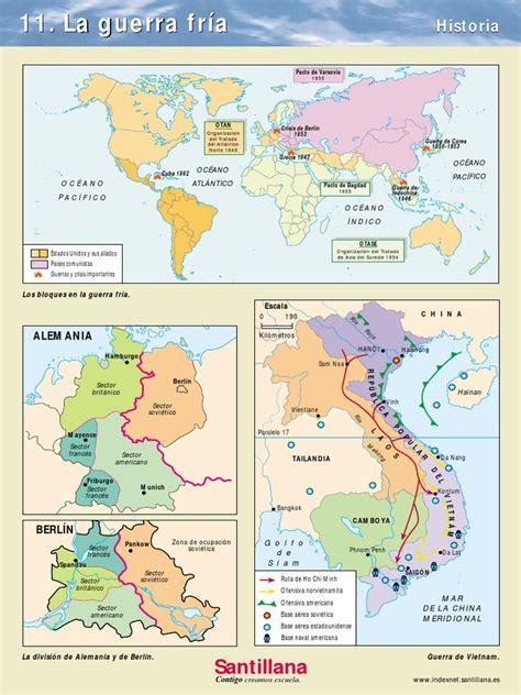 Historia   Mapa de la Guerra Fría.pdf   Vietnam del Norte ...
