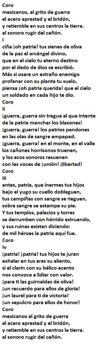 HISTORIA Y LETRA del Himno Nacional Mexicano Completo