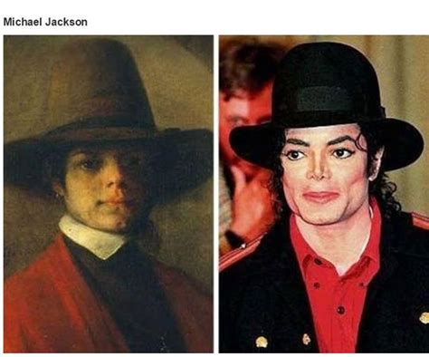 Historical Doppelgangers of Celebrities  34 pics