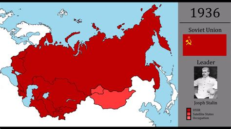 History of the USSR   Every Year 1922 1991   YouTube
