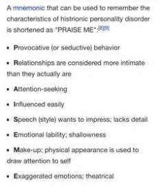 Histrionic Personality Disorder   Symptoms, Causes, Test ...